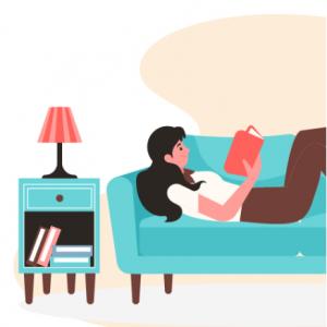 Сидим дома — читаем хорошие книги @ ЛитРес