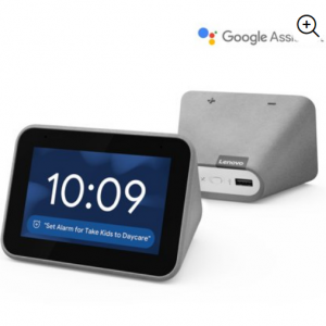 Lenovo Smart Clock with the Google Assistant @Walmart