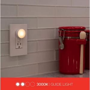Lights by Night LED 迷你小夜灯6个 入夜自动点亮 @Amazon