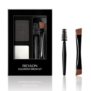 86% OFF Revlon ColorStay Brow Kit, 101 Soft Black @Amazon