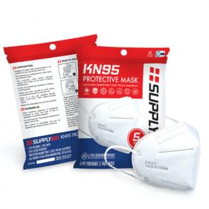 SupplyAID's KN95 Protective Face Mask CE/ECM Certified | GB2626 Standard | 5-Pack @ Snow Joe
