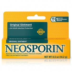 Neosporin Original First Aid Antibiotic Ointment,0.5 oz @ Amazon