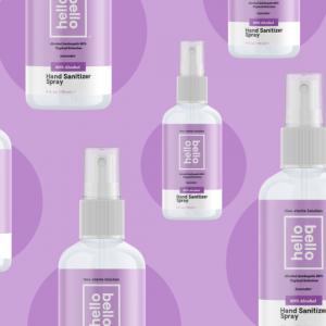 Hello Bello Hand Sanitizer Spray, Lavender, 4oz, 4-count @ Walmart