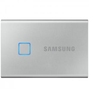 B&H - Samsung T7 Touch Portable SSD 黑银两色 2TB版仅$339