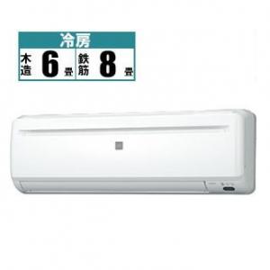 コロナ CORONA エアコン 冷房専用シリーズ 2.2kW おもに6畳用 RC-2219R-W|kojima