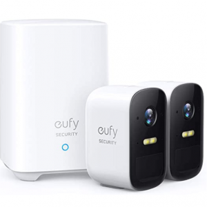 Up to $50 off eufy Security, eufyCam 2C 2-Cam Kit, Wireless Home Security System @Amazon