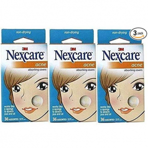 Nexcare Acne Absorbing Covers, Assorted 36 ea Package of 3 @ Amazon