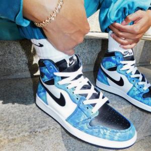 New Release: Women's Air Jordan 1 Tie-dye Shoes @ Nike