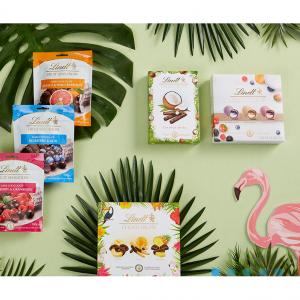 Lindt 夏季果味巧克力上新,冰激凌口味礼盒$6.5