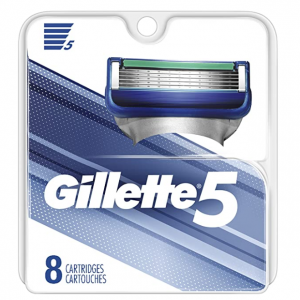 Gillette 3/5 Men's Razor Blade Refills, 8 Count @ Amazon