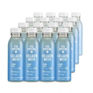 Vital Proteins 膠原蛋白飲 檸檬味 16瓶,還有超多口味可選 @ Amazon