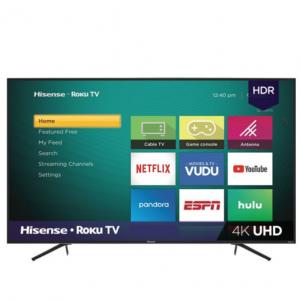 "Walmart - Hisense 65"" 4K HDR LED Roku 65R6E1 智能電視,直降$70"