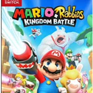 Amazon - 《马里奥+疯兔:王国之战》Nintendo Switch 实体版 ,9.4折
