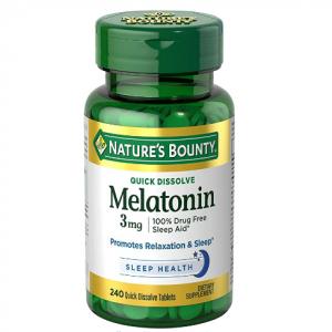 Natures Bounty Melatonin 3 mg @ Amazon