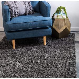 Unique Loom 灰色粗毛地毯 2' 0 x 3' 0 @ Amazon