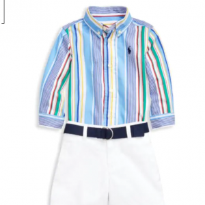 Saks Fifth Avenue - Ralph Lauren 兒童服飾特賣 收衛衣,Polo衫,襯衫等3.5折起