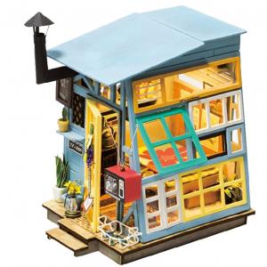 ROBOTIME DIY Dollhouse Kits with Accessories Miniature House Decorations @ Amazon