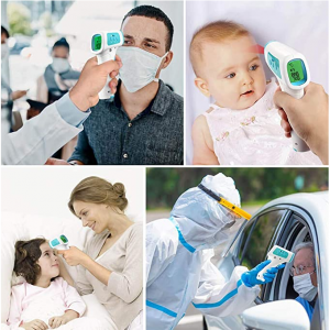 Infrared Thermometer, No Contact Forehead Thermometer, Baby Thermometer Forehead & Ear LCD Display