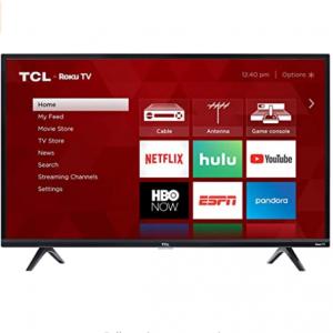 """Amazon - TCL 43S325 43"""" 1080p 智能LED电视,直降$130"""