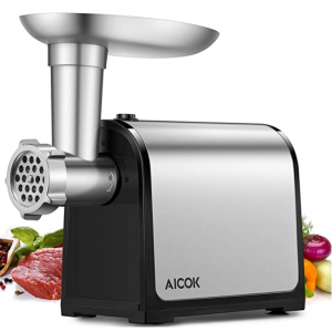 AICOK Electric Meat Grinder, 3-IN-1 Meat Mincer & Sausage Stuffer, [1500W Max] @ Amazon