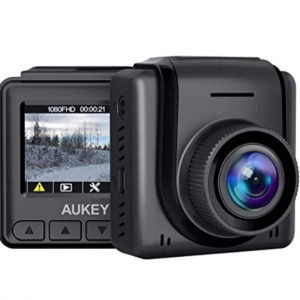 "40% off AUKEY Mini Dash Cam 1080p Full HD Dash Camera with 1.5"" LCD Screen Car Camera @Amazon"