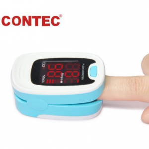 CONTEC Finger Pulse Oximeter LED Blood Oxygen Saturation Monitor Heart Rate Monitor @ Newegg