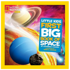 National Geographic Little Kids First Big Book of Space (Hardcover) @ Walmart