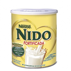 NESTLE NIDO Fortificada Dry Milk 56.4 Ounce Canister (Pack of 1) @ Amazon