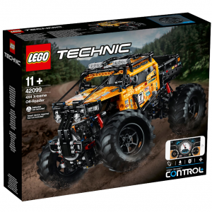 LEGO Technic 科技係列 全新智能遙控四驅越野車 (42099) @ Zavvi