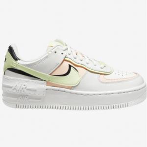 新色补码:Eastbay官网 Nike Air Force 1 Shadow 马卡龙黄钩女士运动鞋热卖
