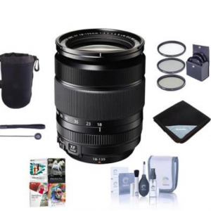 $150 off Fujifilm XF 18-135mm F3.5-5.6 R LM OIS WR Lens w/Accessory Bundle @Adorama