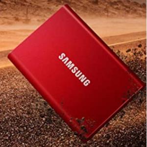 Amazon - Samsung 2TB T7 移动固态硬盘,直降$50