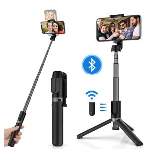 Yoozon 手机三脚架+自拍杆+蓝牙遥控 三合一 @Amazon