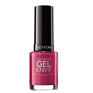 Revlon ColorStay Gel Envy Longwear Nail Polish in Plum/Berry, 400 Royal Flush, 0.4 oz @ Amazon
