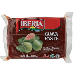Iberia Guava Paste, 14 oz, All Natural, Vegan, Gluten Free, Halal, Kosher Guava Paste