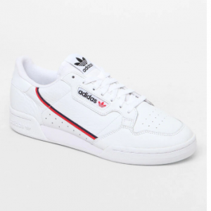 adidas White & Red Continental 80 Shoes Sale @ PacSun