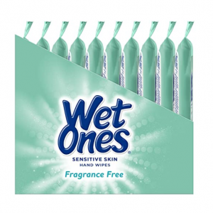 Wet Ones Sensitive Skin Hand Wipes, 20 Count (Pack Of 10) @ Amazon