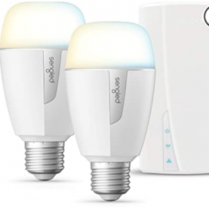 Amazon - Sengled 2個智能LED燈泡+Hub 2700-6500K 色溫可調,直降$14.90