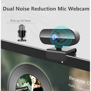 KFF 帶麥克風的攝像頭 網絡會議上網課視頻電話等都OK @Amazon