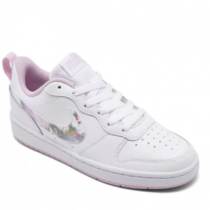 Nike Big Girls Court Borough 2 Floral Casual Sneakers @ Macy's