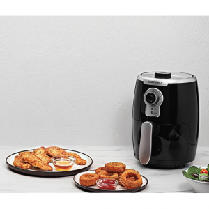 Chefman 2.1qt Analog Air Fryer - Black/Silver @ Target