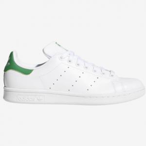 Champs Sports官网 adidas Originals Stan Smith绿尾女款小白鞋热卖