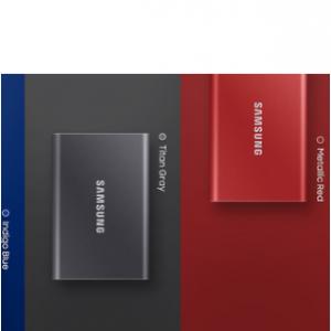 Amazon - Samsung 500GB T7 移動固態硬盤,直降$30