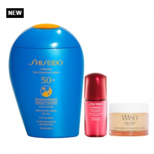 New! Shiseido SPF x Active Play Sun Protection Set @ Sephora
