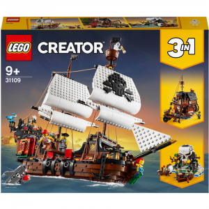 LEGO Creator: Pirate Ship (31109) @ Zavvi