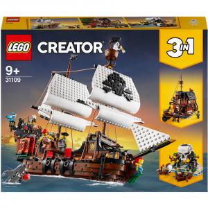 LEGO Creator 创意百变系列 31109 海盗船 @ Zavvi