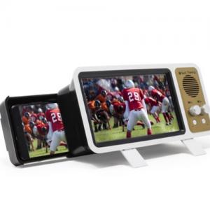 69% off Aduro Smartphone Retro Home Theater Screen Magnifier & Wireless Speaker @woot!