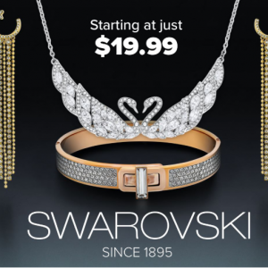 Swarovski Jewelry Starting At Just $19.99 @ Ashford