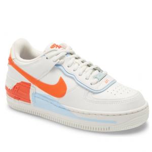 Nordstrom官网 Nike Air Force 1 Shadow 马卡龙红白蓝女士运动鞋热卖