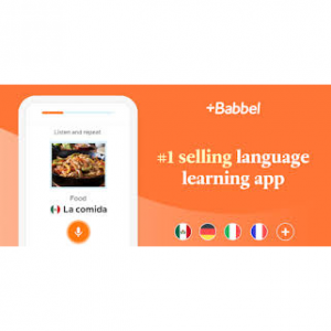 Babbel Birthday Sale with up to 50% OFF